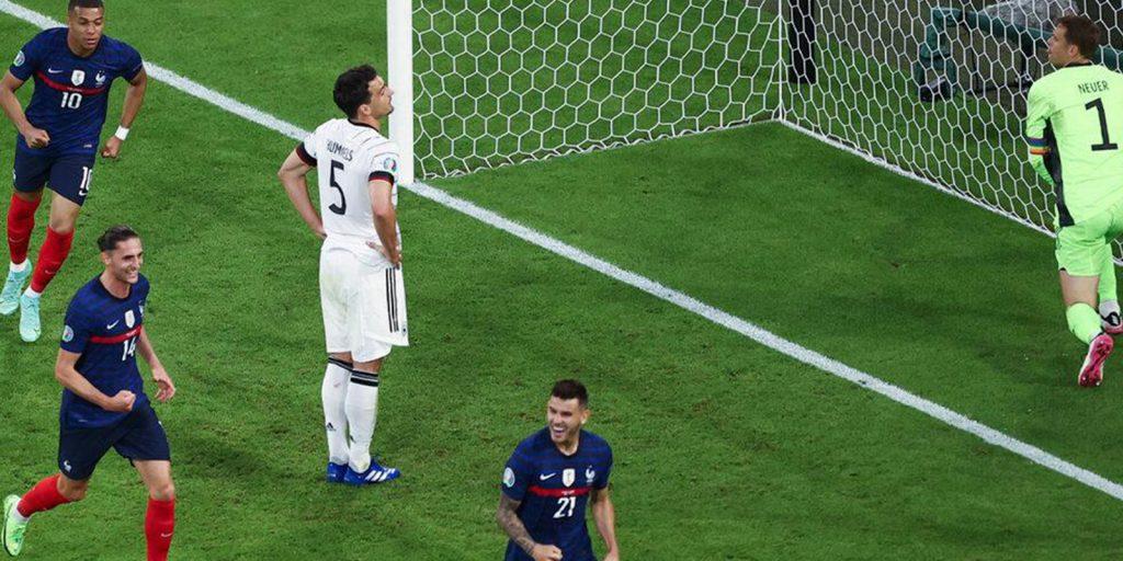 Almanya Kendi Kalesine Gönderdiği Gol İle EURO 2020'de Mağlubiyet Yaşadı